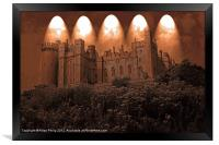 Arundel Castle, Arundel, West Sussex, Framed Print