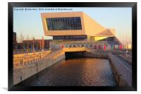 The Museum of Liverpool, Framed Print