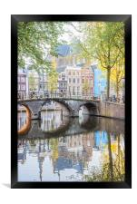 Amsterdam Canals, Framed Print