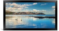 Torquay in the Spring time, Framed Print