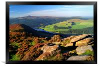 View Across Ladybower Reservoir, Framed Print