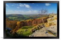 Hope Valley View, Framed Print