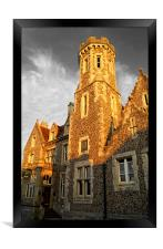 Purbeck House Hotel, Framed Print