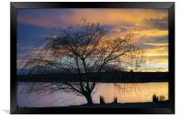Rother Valley Sunset, Framed Print