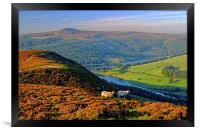 Ladybower Lookout, Framed Print