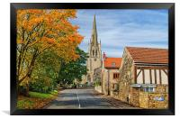 Laughton-en-le-Morthen, Framed Print