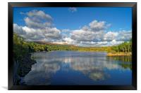 Burrator Reservoir                      , Framed Print