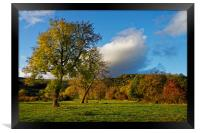 Hope Valley in Autumn                             , Framed Print