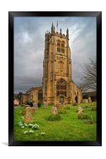 St Mary's Church,Beaminster,Dorset                , Framed Print