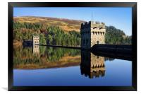 Derwent Dam and Reservoir, Framed Print