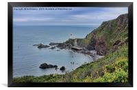 Hartland Point Devon, Framed Print