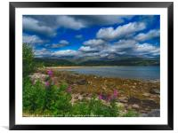 Brodick bay, Isle of Arran, Framed Mounted Print