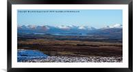 Loch Lomond from the Whangie / Queens View, Framed Mounted Print