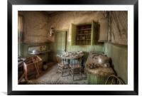 Tom Miller House - Bodie Ghost Town, Framed Mounted Print