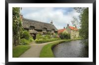 Thornton-le-Dale, Framed Mounted Print