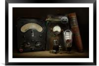 The Art of Electronics, Framed Mounted Print