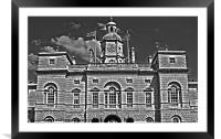Horseguards parade 2, Framed Mounted Print