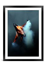 Into the Storm, Framed Mounted Print
