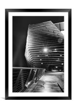 The V&A again at Dundee, Framed Mounted Print