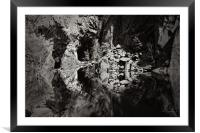 The Skull (lean left and view), Framed Mounted Print