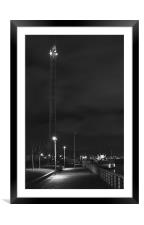 Waterfront, Framed Mounted Print