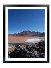 Bolivian Salt Flats, Framed Mounted Print
