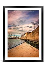 The Wall, Framed Mounted Print