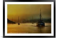 Carina In The Mist, Framed Mounted Print