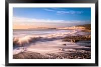 Compton Bay Beach 3, Framed Mounted Print