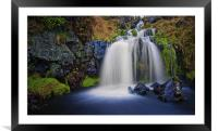 Campsie Fairy Falls, Framed Mounted Print