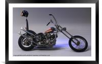 """""""Born To Be Wild """", Framed Mounted Print"""