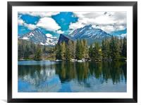 The Tatra Mountains, Framed Mounted Print