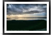 Darkness Closes In, Framed Mounted Print