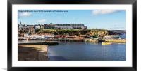 West Cliff Hotels, Framed Mounted Print