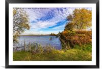 The Colours Of Autumn, Framed Mounted Print