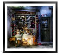 Made in Whitby, Framed Mounted Print