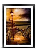Guiding Lights, Framed Mounted Print