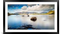 Derwent Journey, Framed Mounted Print