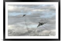 High Flyers, Framed Mounted Print