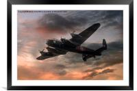 Canada's Lancaster, Framed Mounted Print