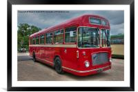 Red and White RS 167 - Bristol RESL6L  #2, Framed Mounted Print