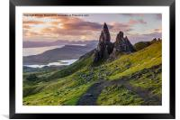 The Old Man of Storr, Framed Mounted Print
