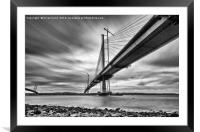 Queensferry Crossing, Framed Mounted Print