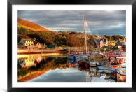 View From Port Arthur Marina, Framed Mounted Print