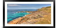 Pendeen Panoramic, Framed Mounted Print