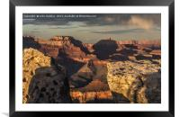 Grand Canyon Sunset, Framed Mounted Print