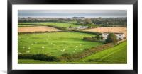 Welsh View, Framed Mounted Print