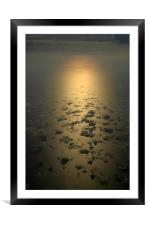 Leaving Istanbul, Framed Mounted Print