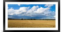 Finnish Countryside, Framed Mounted Print