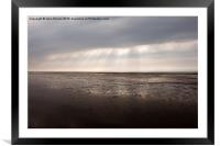 Southport Beach, Framed Mounted Print